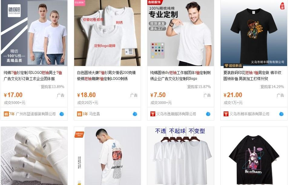 shop bán sỉ áo thun Nam